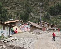 På vägen mellan Cuzco och Perus största sevärdhet Machu Picchu i Inkas heliga dal ligger orten Calca